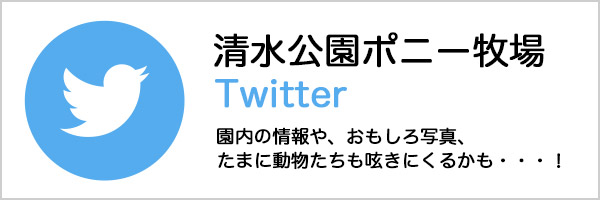 清水公園ポニー牧場 Twitter