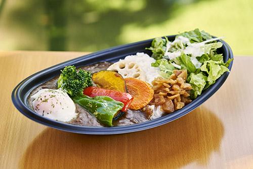 野菜たっぷりカレー 950円